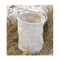 Folding Bucket, Canvas approx. 8.5 Litres